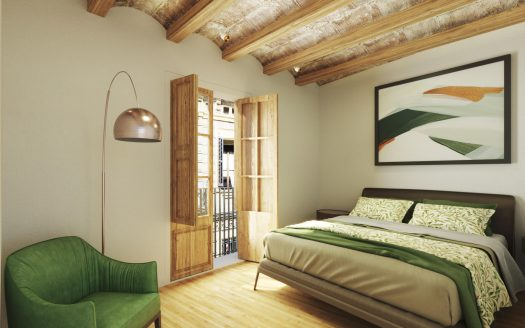 Barcelona Borne stunning high quality flat with plenty of light and original features