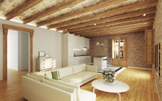 Barcelona Borne magnificent high quality renovated flat with outstanding features