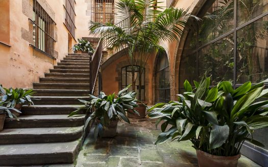 Barcelona Borne Unique Historical Property With Large Terrace